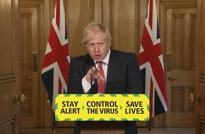 "Boris Johnson called on the public to use ""good solid British common sense"""