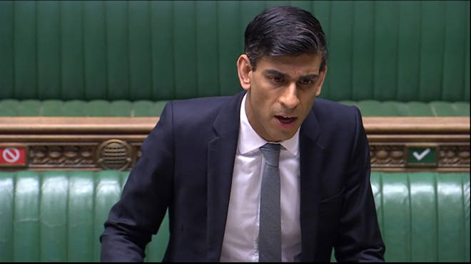 Rishi Sunak makes a statement in the House of Commons on the government's economic package in response to the coronavirus outbreak