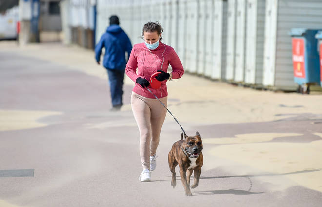 New lockdown measures introduced today mean you can now exercise outside more than once