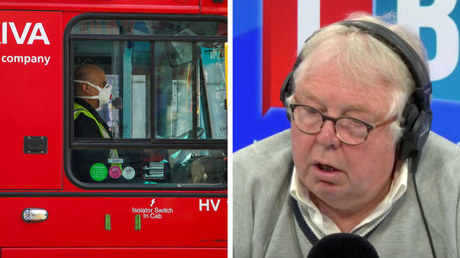 Nick Ferrari heard from a bus driver who was worried for his safety