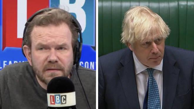 James O'Brien labelled Boris Johnson's PMQs a humiliation