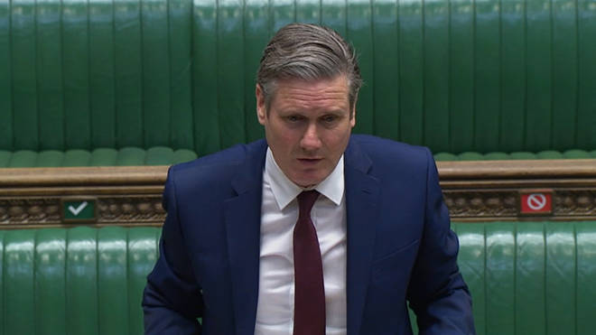 Sir Keir wrote to the PM on Wednesday asking him to correct the record