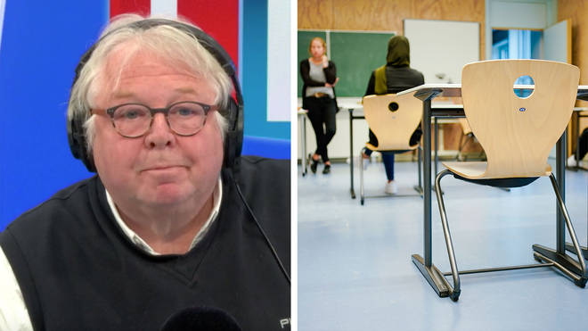 Nick Ferrari had to correct the teachers' union boss