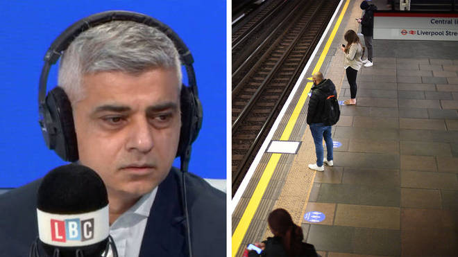 Sadiq Khan warned TfL is close to running out of cash