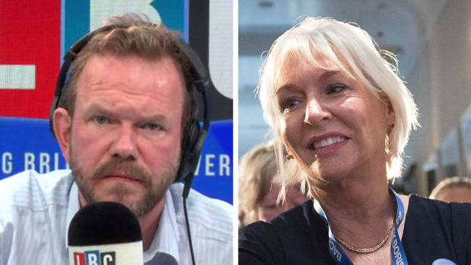 James O'Brien asked how Nadine Dorries can keep her job?