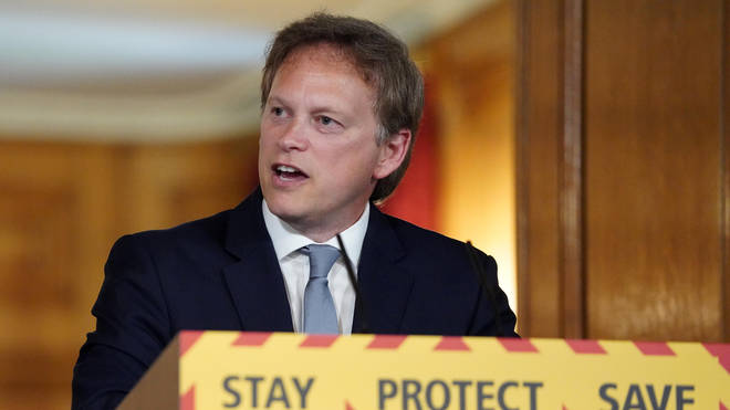 Grant Shapps has announced a £2 billion fund for roads and railways
