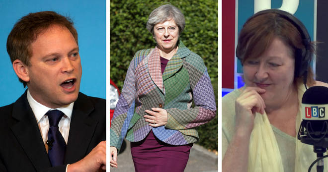 Grant Shapps, Theresa May, Shelagh Fogarty