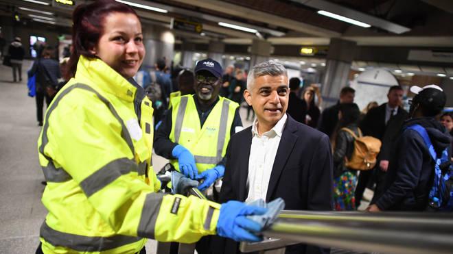 London's Mayor Sadiq Khan will be increasing tube fares and bringing back the congestion charge