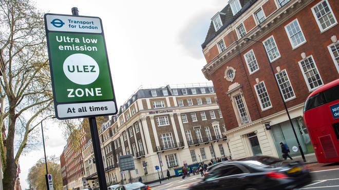 The ULEZ will also be reinstated on Monday