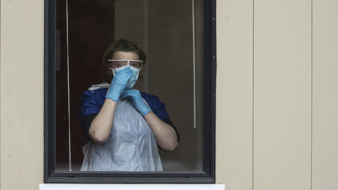 File photo: The UK-wide survey of more than 5,000 nursing staff for the Royal College of Nursing (RCN) found 34 per cent were working without adequate PPE