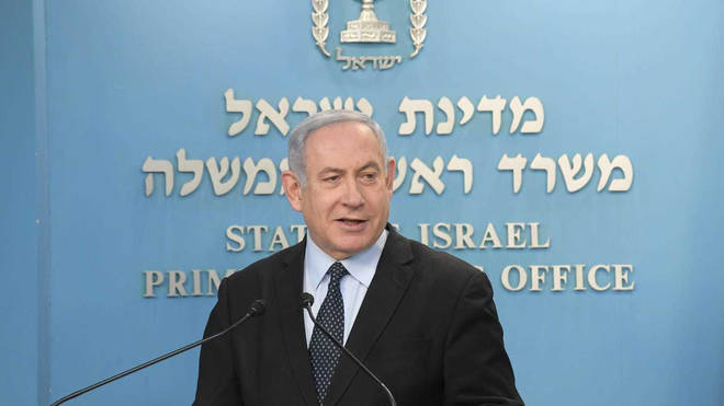 Mr Netanyahu and his rival-turned-partner Benny Gantz announced their appointments for the new government