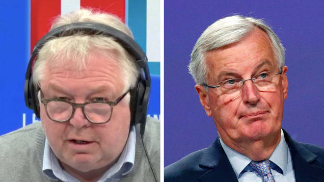 Nick Ferrari heard how Michel Barnier was angry after the Brexit talks