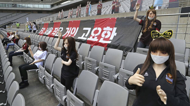 FC Seoul inadvertently used what appeared to be sex dolls to fill empty stands