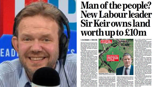 James O'Brien ridiculed the Mail on Sunday story