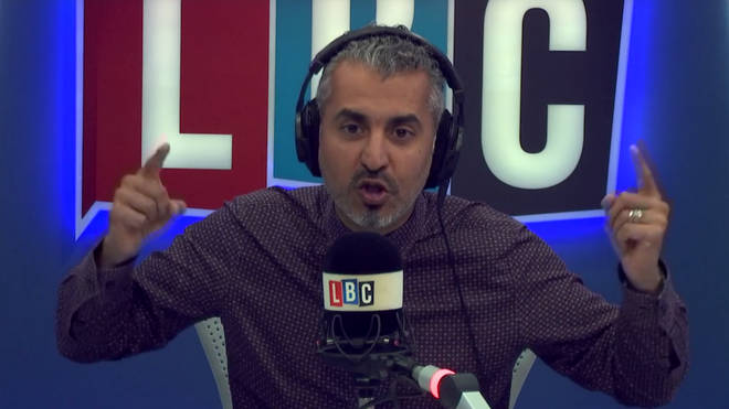 Maajid counts Theresa May's supporters on his hands