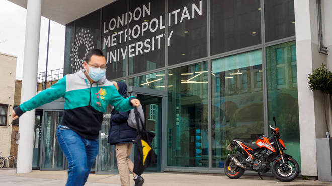 The London Metropolitan University closed its doors on Friday 20th March