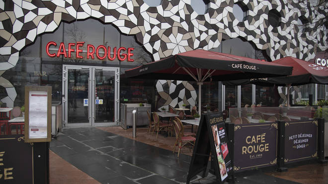 Cafe Rouge is also at risk of falling into administration
