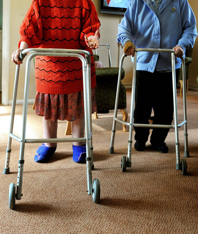 More than 22,000 care home residents are estimated to have died in England and Wales