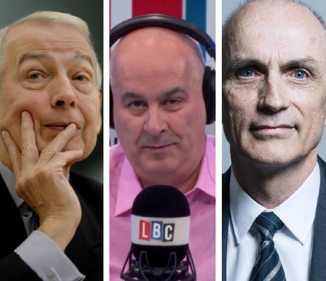 Frank Field, Iain Dale, Chris Williamson