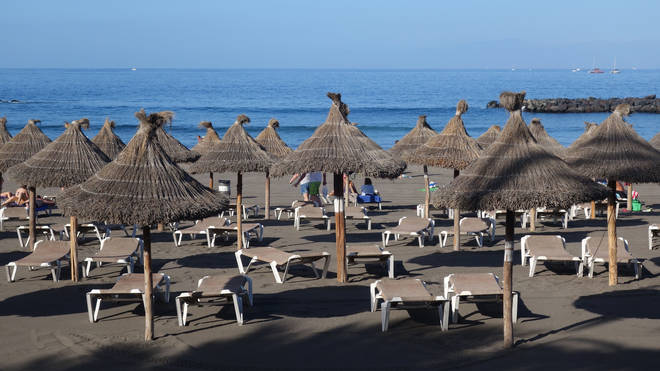 The coronavirus pandemic has left many beaches empty up until recently