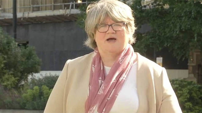 """Therese Coffey said: """"You can only make judgements and decisions based on the information and advice that you have at the time."""""""