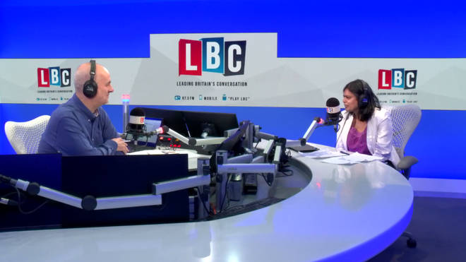 Rupa Huq speaks to Iain Dale in the LBC studio.