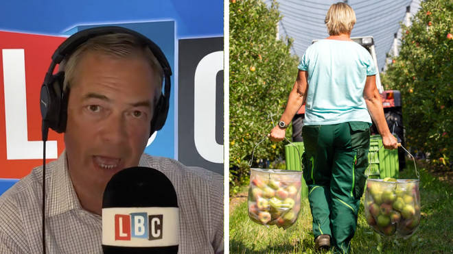 "Nigel Farage: ""I don&squot;t buy the argument all Brits are lazy"""