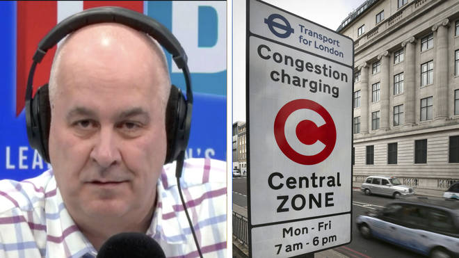 Iain Dale challenged business minister over congestion charge increase in TfL bailout conditions