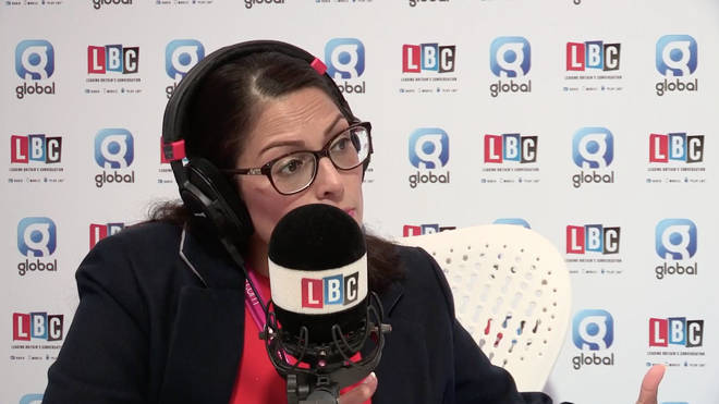 Priti Patel spoke exclusively to Nick Ferrari on LBC