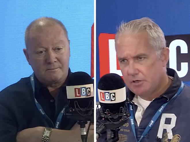 Steve Allen interviews Eddie Mair