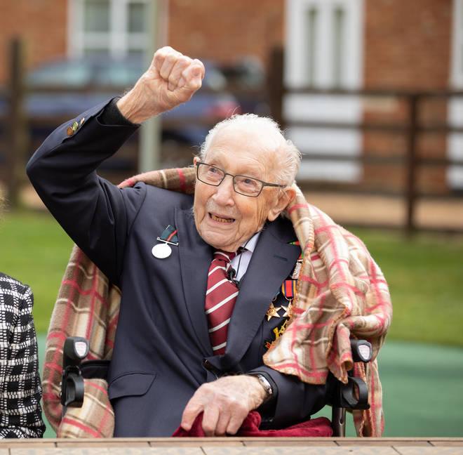Captain Tom Moore is set to be knighted by the Queen