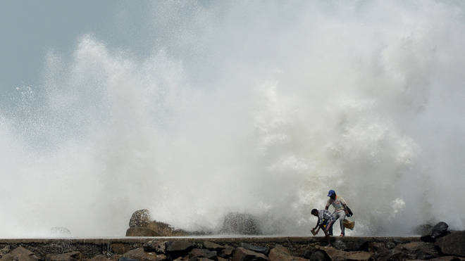 Millions have been forced to evacuate their homes due to Cyclone Amphan's winds