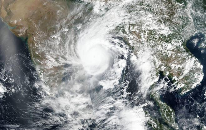 Cyclone Amphan made landfall near West Bengal