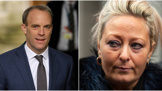 Charlotte Charles has called for Dominic Raab to resign