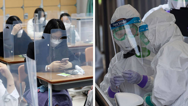 South Korea has had fewer than 270 coronavirus deaths