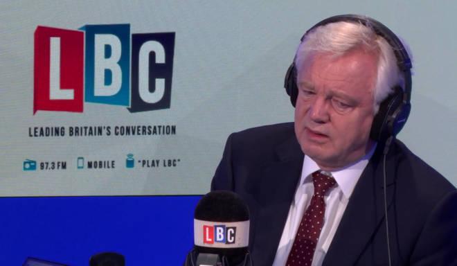 David Davis on LBC