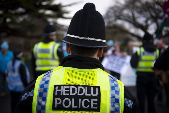 Welsh Police are urging people to stay at home over the Bank Holiday weekend