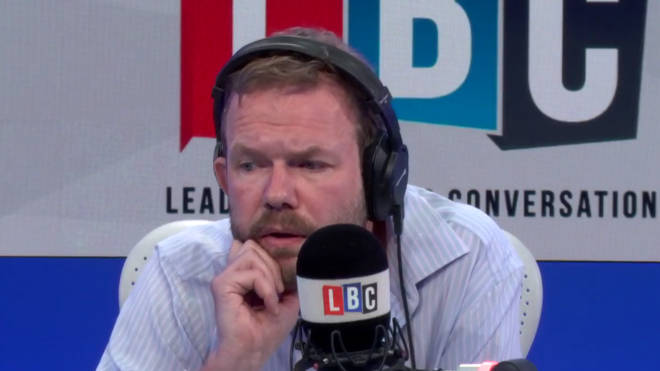 James O'Brien sighs while speaking to Tony