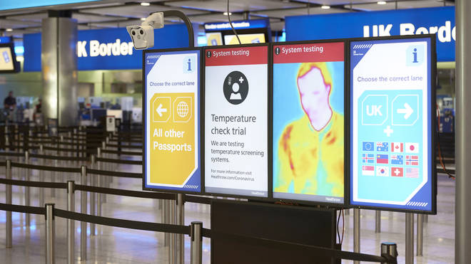 Trials have launched in the immigration hall of Terminal 2 as part of a programme looking at technology that could reduce the risk of the transmission of coronavirus