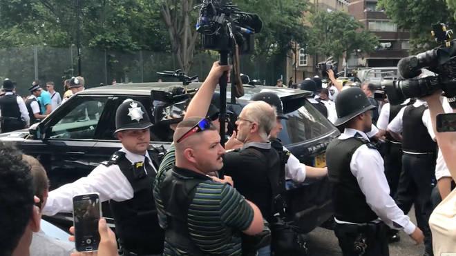 Theresa May car