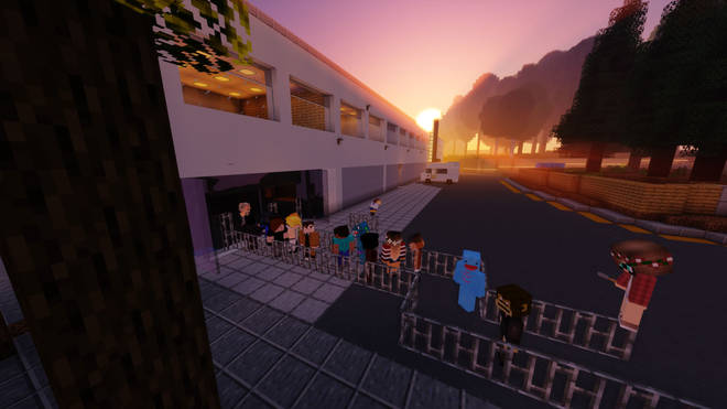 More than 200 people now visit the virtual campus