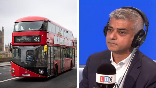LBC questions Sadiq Khan on London bus driver deaths review