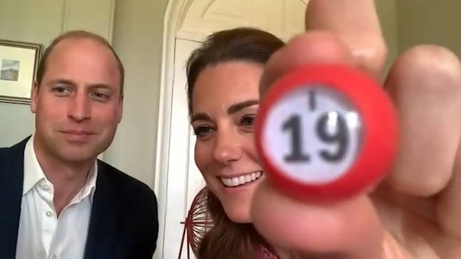 Kate and William maybe aren't the strongest bingo callers but gave it their best shot nonetheless