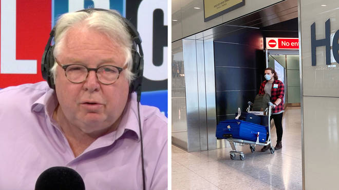 A SAGE member told Nick Ferrari that quarantining won't work at the moment
