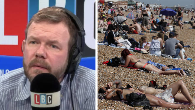 James O'Brien reeled from the deeply poignant point the caller made about British behaviour during the coronavirus crisis