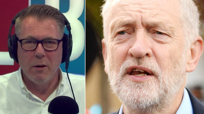 Ian Collins revealed his concern about Jeremy Corbyn