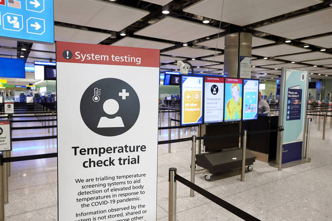New measures for people arriving in the UK were announced on Friday - including a 14-day quarantine period for anyone arriving into the country