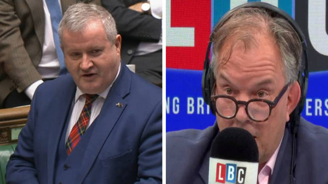 Ian Blackford told LBC's Matt Frei that Mr Cummings should resign