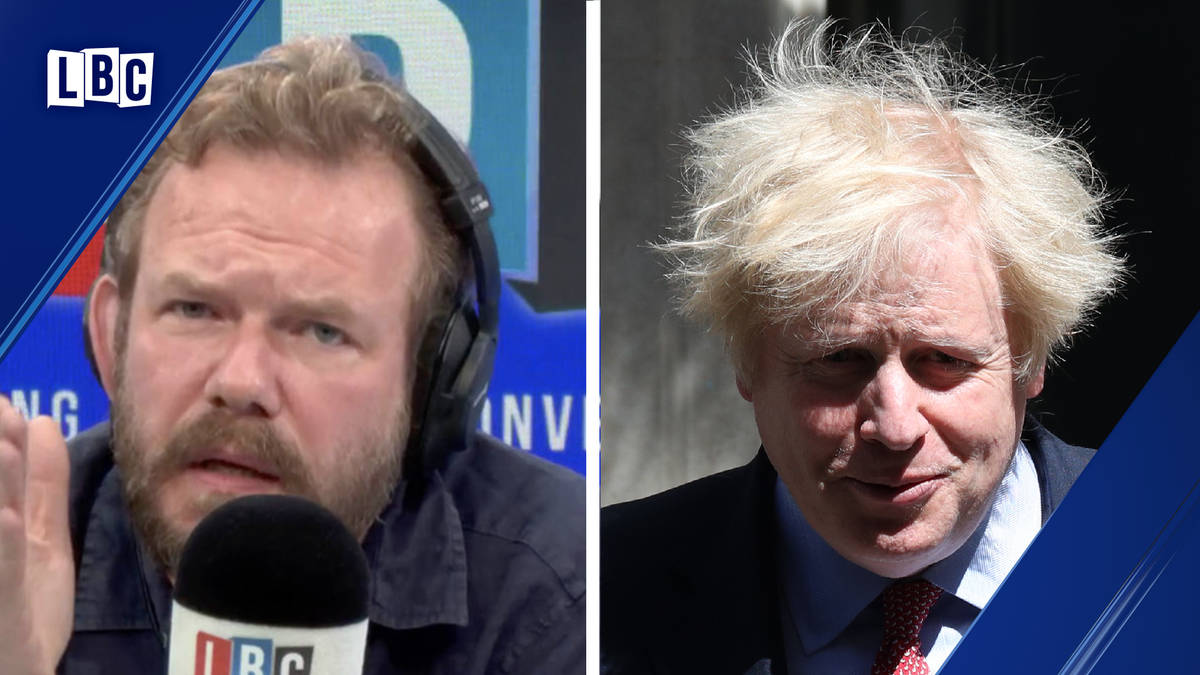 """James O'Brien's theory on what Dominic Cummings """"holds over"""" Boris Johnson"""