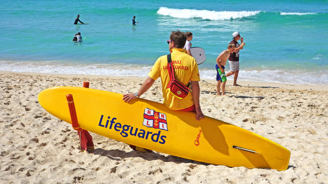 Lifeguards are currently not on duty on beaches across the UK